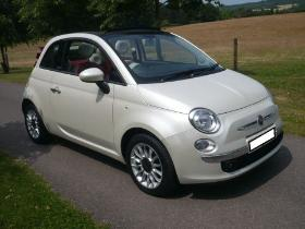 Fiat 500 Twin Air Lounge Covertible