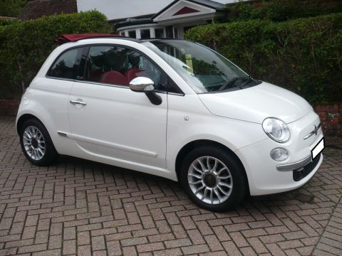 Fiat 500 1.2 Lounge Convertible