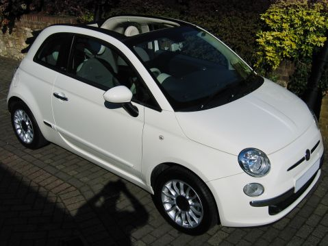 Fiat 500 1.4 Lounge Convertible